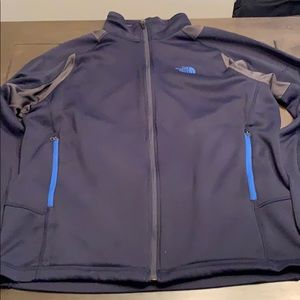 North Face Full Zip Mid Layer Jacket